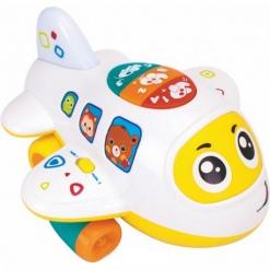 Jucarie Avionul cu activitati pentru copii