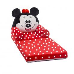 Fotoliu Extensibil Din Plus  Minnie Mouse Buline