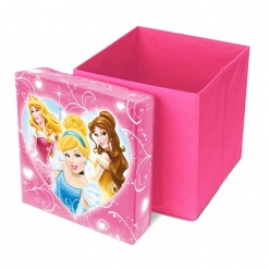 Cutie de depozitare jucarii cu functie de taburet Disney Princess