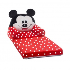 Fotoliu Extensibil Din Plus Mickey Mouse Buline