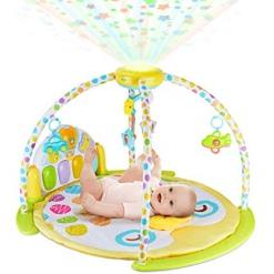 Salteluta interactiva cu proiector si carusel pentru copii