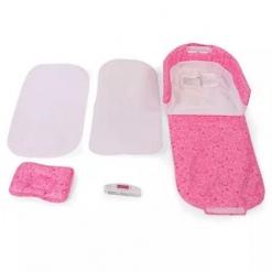 Mini-patut portabil Roz pentru bebelusi