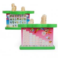 Broscuta cu ciocan din lemn pentru copii