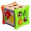 Jucarie din lemn Cub cu activitati pentru copii