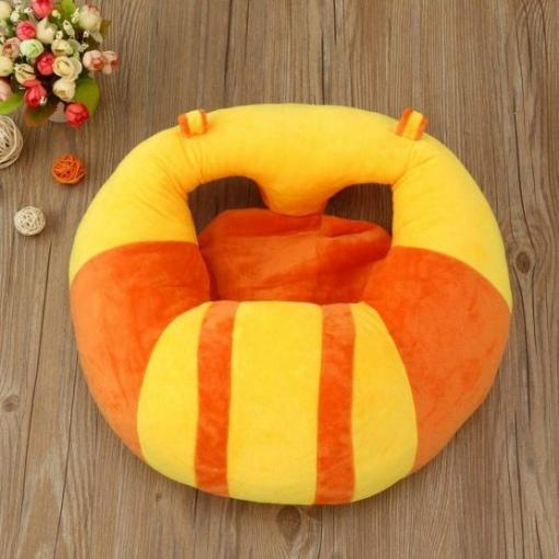 Fotoliu Plus pentru Bebe – Orange cu Galben pentru sezut