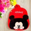 Ghiozdan din Plus Catifelat – Mickey Mouse