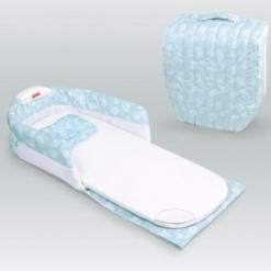 Mini-patut portabil Blue pentru bebelusi