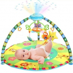 Salteluta multifunctionala cu proiector Baby play gym