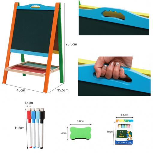 Tabla educativa multifunctionala cu accesorii