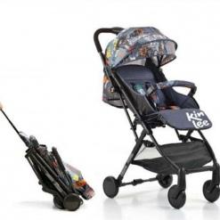 Carucior sport copii, modul Troller-transport pe avion, Kinlee, Negru Urban