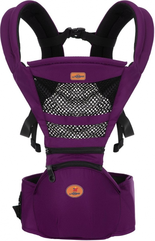 Marsupiu ergonomic Aiebao cu scaunel Mov