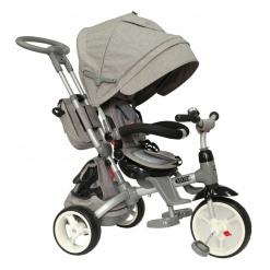 Tricicleta cu scaun reversibil Little Tiger Modi Grey