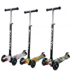 Trotineta pentru copii Smart Scooter model imprimat