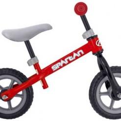 Bicicleta fara pedale, Balance Spartan, Rosu/Negru
