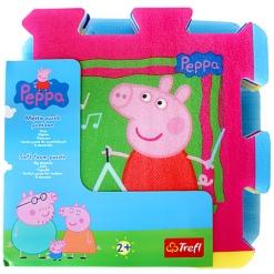 Covoras-Puzzle din spuma Trefl, Peppa Pig