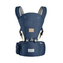 Marsupiu ergonomic cu scaunel All Seasons Baoneo, Bleumarin