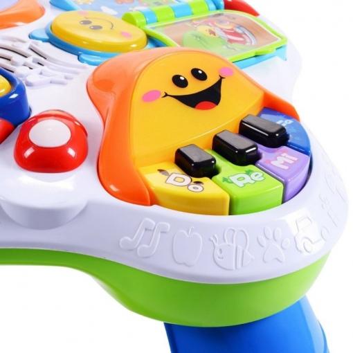 Masuta Interactiva, Abero, cu Muzica si Activitati multiple, Multicolora