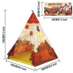 Cort Egiptean pentru Copii cu Felinar inclus