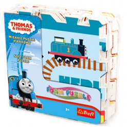 Covoras-Puzzle din spuma Trefl, Thomas & Prietenii