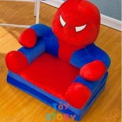 Fotoliu Extensibil din Plus pentru copii - SPIDERMAN