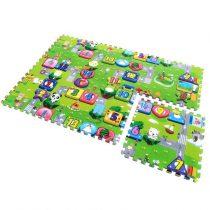 Covoras de joaca Puzzle din spuma -Traffic