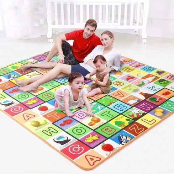 Covoras de Joaca Mare cu doua fete si termoizolant