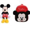 Set Ghiozdanel Mickey Mouse + Mascota din Plus