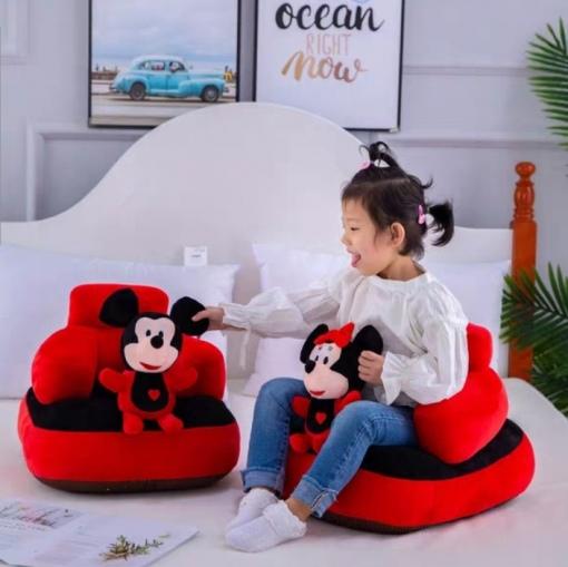 Fotoliu din Plus pentru Bebe – MICKEY MOUSE – pentru sezut