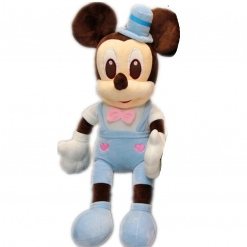 Jucarie din Plus Mickey Mouse Groom Bleu- 60 cm