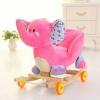 Balansoar Muzical pentru Copii – Elefantel Roz
