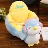 Fotoliu din Plus Bebe Pinguin cu spatar si sistem de prindere