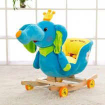 Balansoar Muzical pentru Copii – Elefantel Albastru