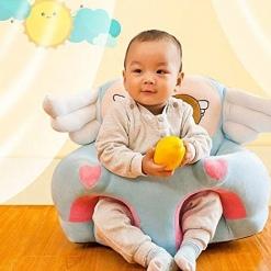 Fotoliu Sit Up din plus pentru bebe Ingeras Bleu