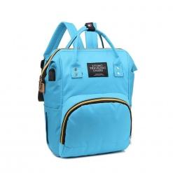 Rucsac/geanta mamici-organizator Living Travelling Share, Bleu