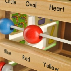 Antepremergator lemn - cub educativcu activitati6 in 1