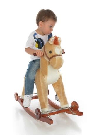 Calut Balansoar Cu Roti Rco Crem Cu Sunete Toy Story