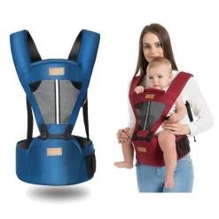 Marsupiu cu scaunel Airsoft Bear pentru bebelus