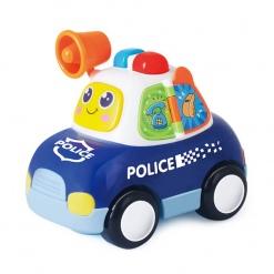 Masina de politie cu sirena, lumini si sunete