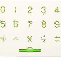 Placuța magnetică EduToys pentru scris litere MagPad