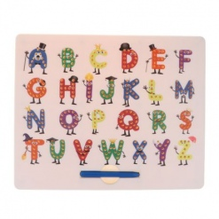 Tablita cu bile magnetice alfabetMagpad