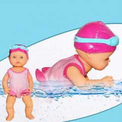 Păpușă care înoată