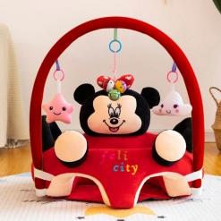 Fotoliu din pluș Felicity Minnie Mouse cu centru de joacă