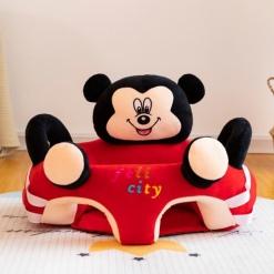 Fotoliu din pluș Felicity Mickey Mouse cu centru de joacă