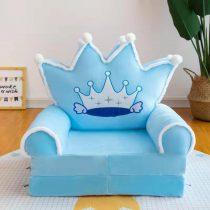 Fotoliu extensibil pentru copii Prince Blue Regal