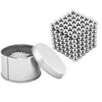 Bile Magnetice AntiStres Neocube, argintiu, 5 mm, 216 piese