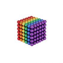 Bile Magnetice AntiStres Neocube, Multicolore, 5 mm, 216 piese