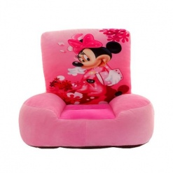 Set fotoliu si ghiozdanel Minnie Mouse – Roz