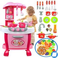 Bucatarie de jucarie Smart Little Chef - 31 piese