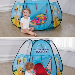 Cort de joaca Insects Pop-Up pentru copii