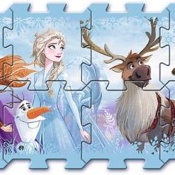 Covoras-Puzzle din spuma Trefl, Frozen